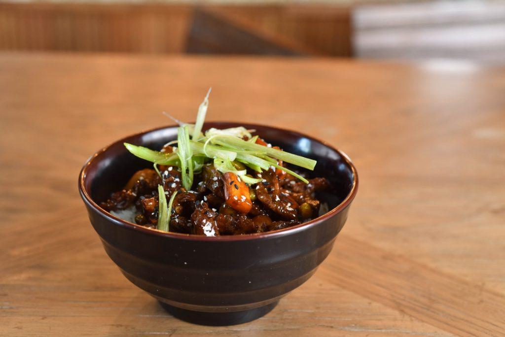 Korean Rice Bowl at Abe's Corner