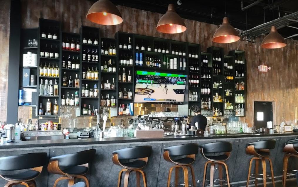 Cafe Noir has a well-stocked bar and an extensive drinks menu