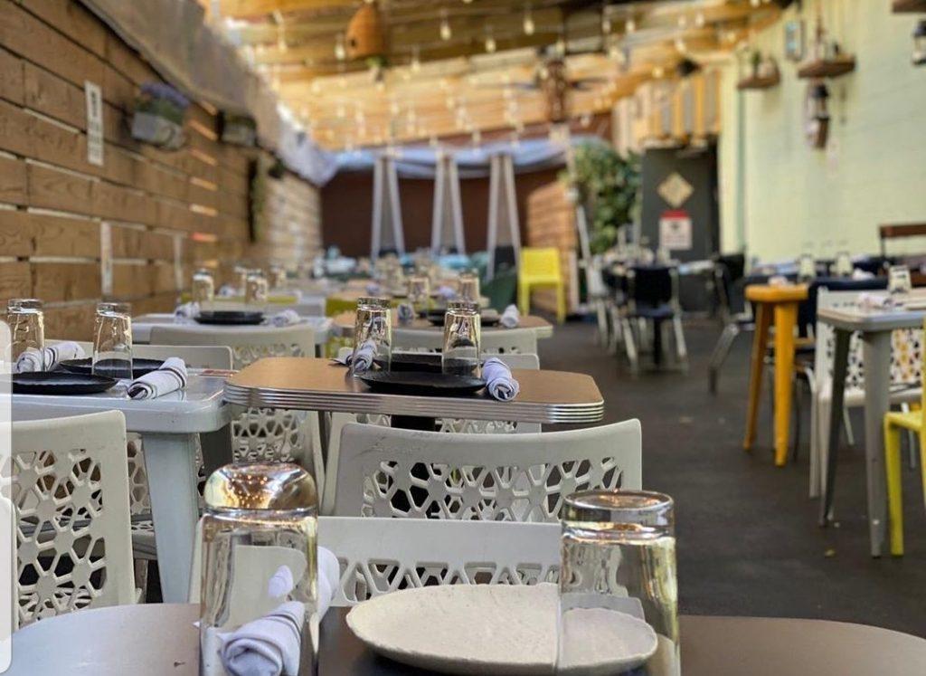 Gruit Brooklyn indoor and outdoor seating
